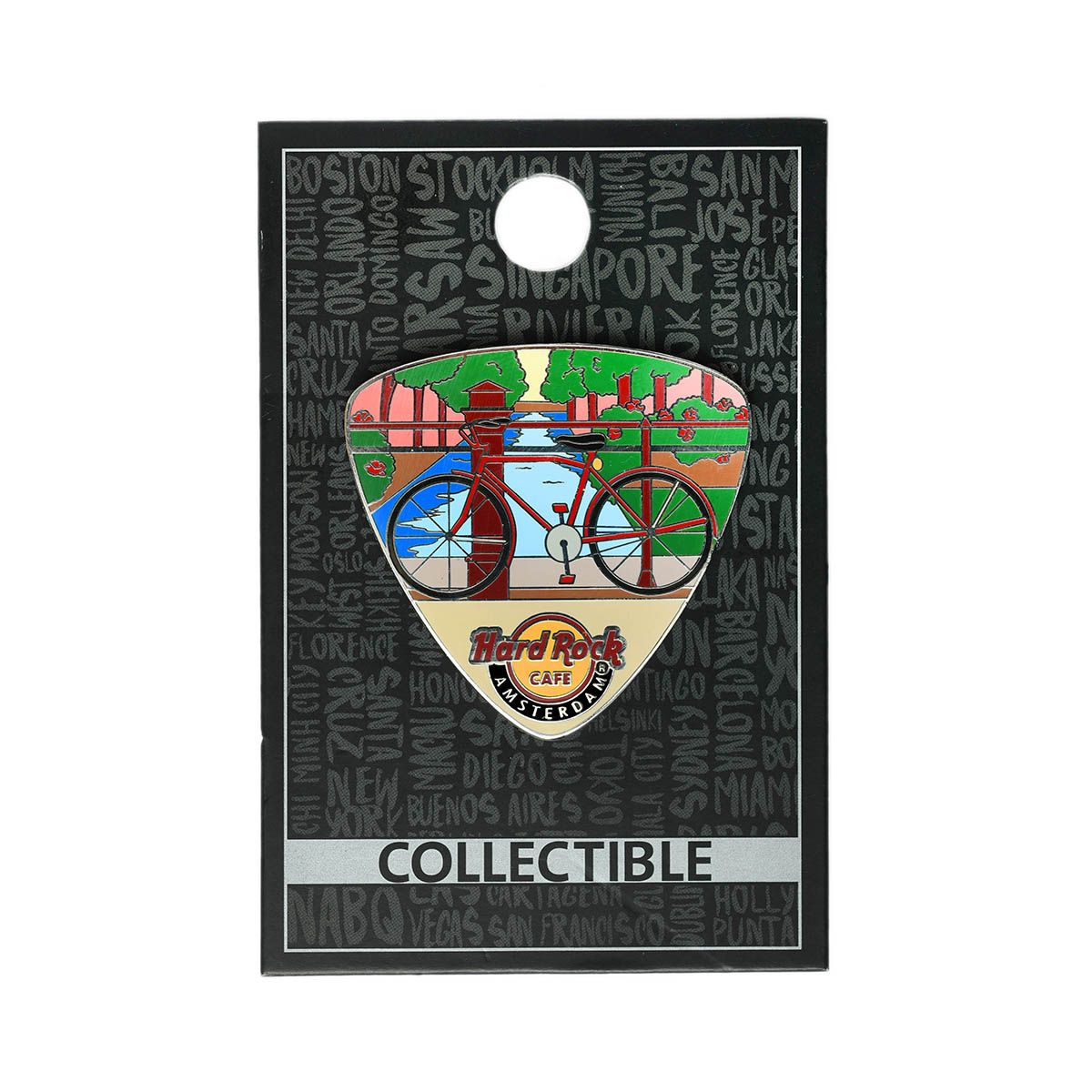 Amsterdam Bicycle Gtr Pick Pin