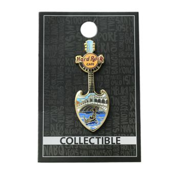 Venice Bridge Guitar Pin