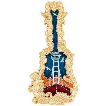 San Francisco 50th Anniversary Stained Glass Jumbo Guitar Pin