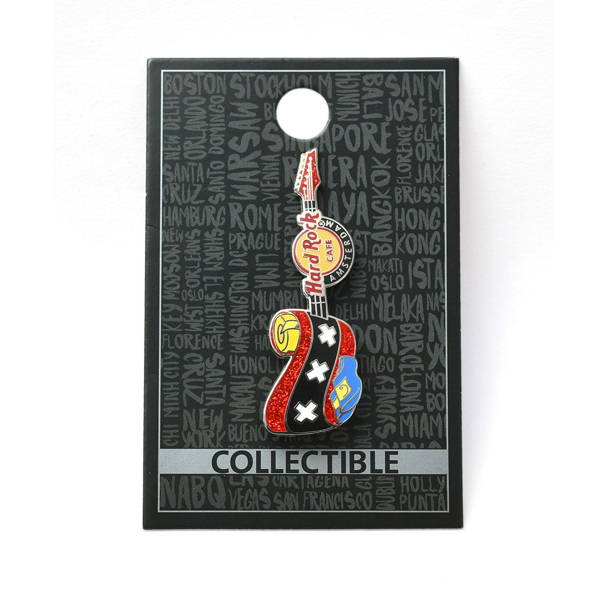 Amsterdam Clogs Guitar Pin