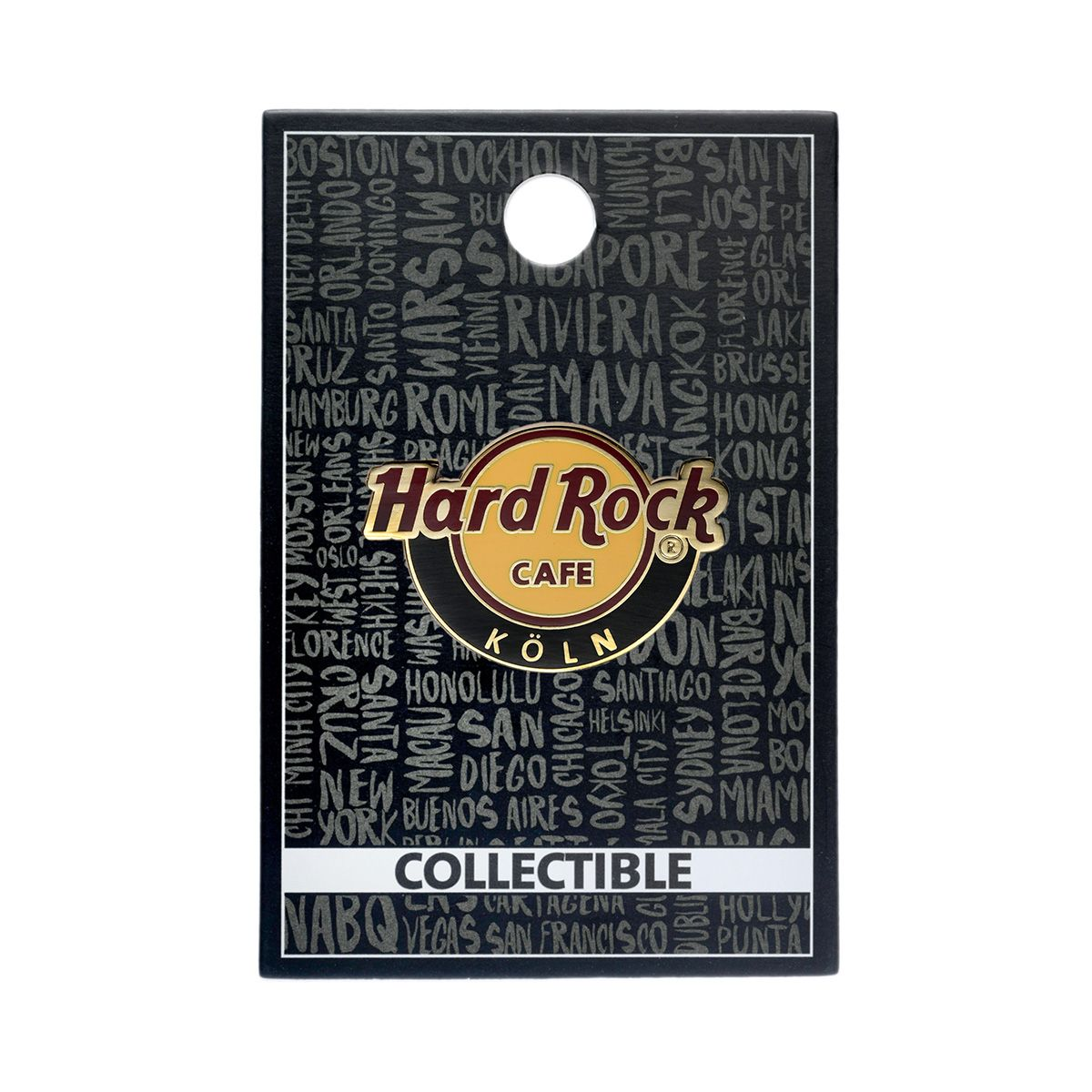 Core Country Language Name Logo Pin