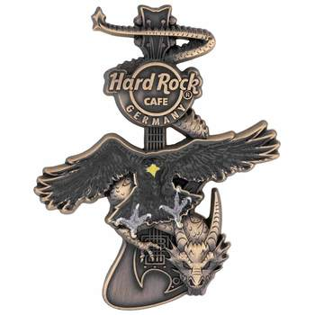 Germany 3D Dragon and Eagle Prototype Pin