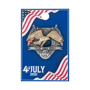 2021 4th of July 3D Pin