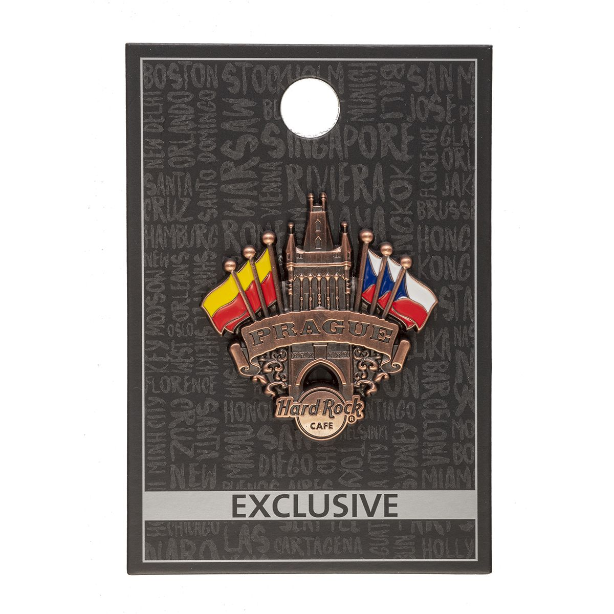 Prague Gun Powder Tower Pin