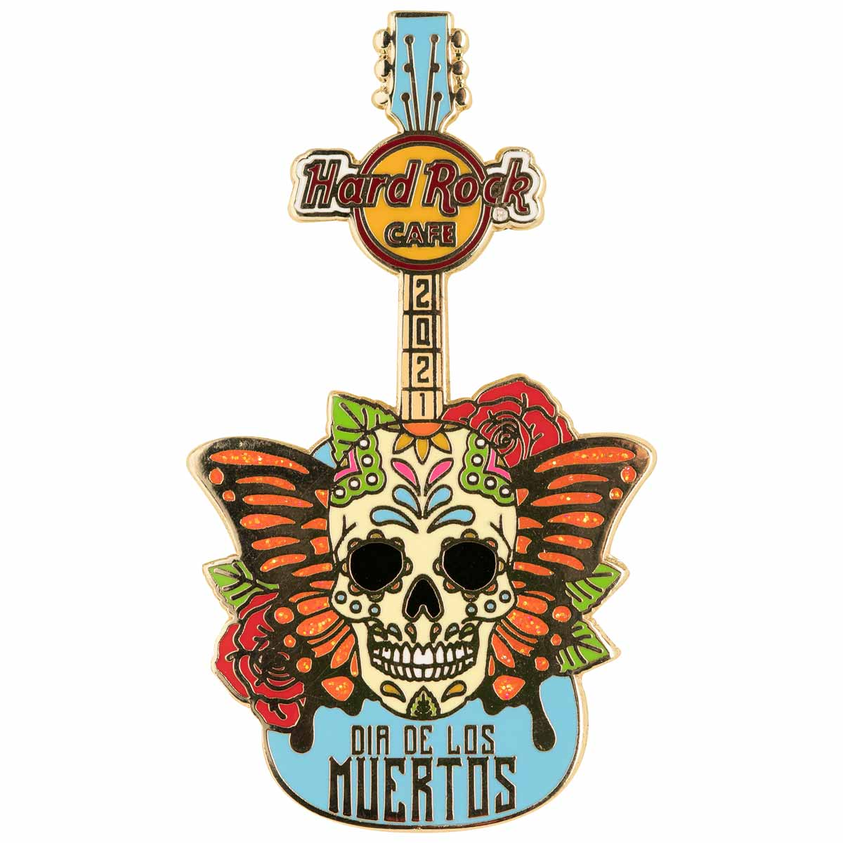 Day of the Dead Skull Prototype Pin