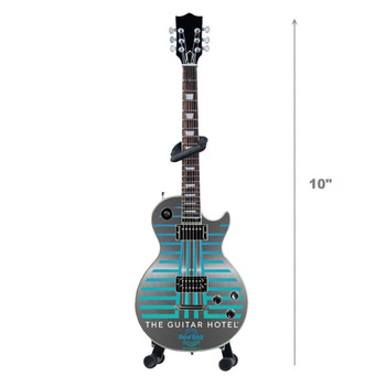 """10"""" Guitar Hotel Mini Guitar with Stand"""