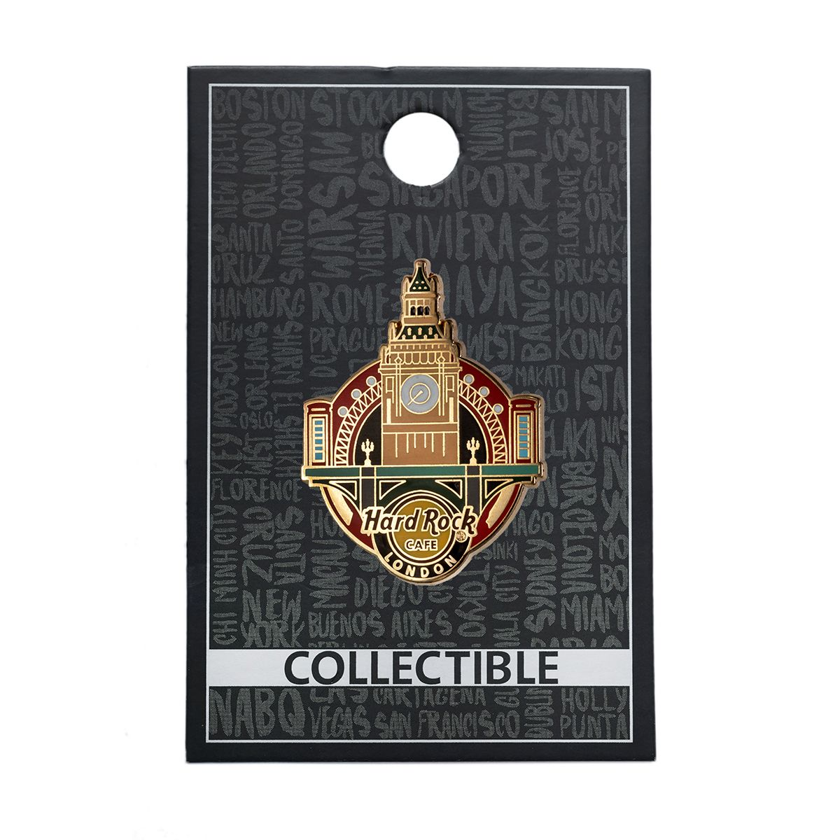 London Big Ben Pin
