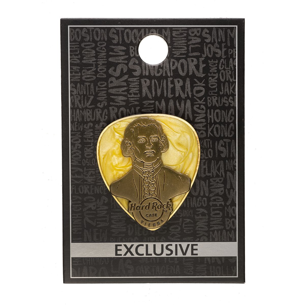 Vienna Mozart Guitar Pick Pin