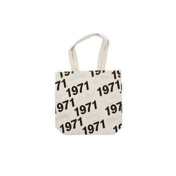 1971 Hard Rock Logo Canvas Tote
