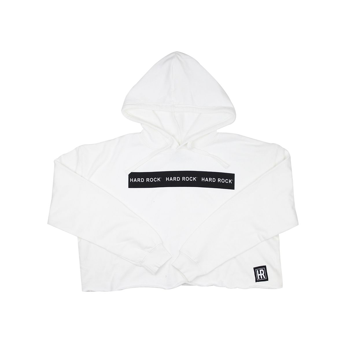 Women's Active Logo Cropped Fleece Hoodie