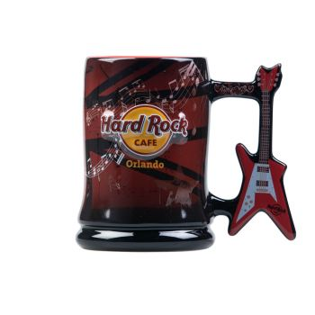 Cafe Guitar Handle Mug