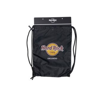 Hard Rock Logo Drawstring Backpack