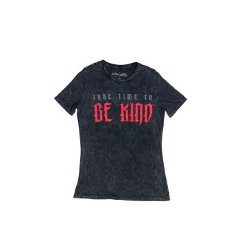 Women's Motto Be Kind short Sleeve Tee
