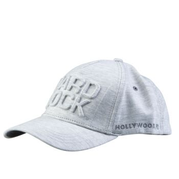 Hard Rock Embossed Hat White