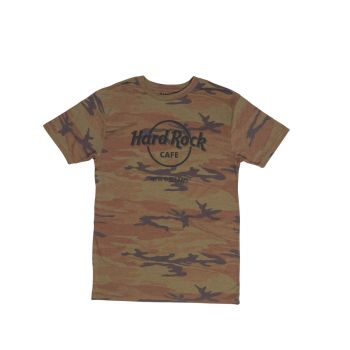 Men's Fashion Camo Logo Tee
