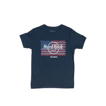 Boys Flag Repeat City Name Tee