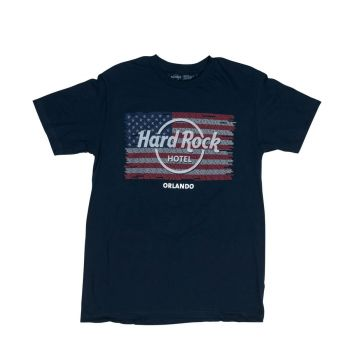 Men's Flag Repeat City Name Tee