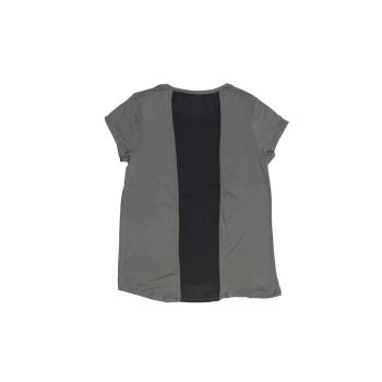 Women's Sheer Back Scoop Tee