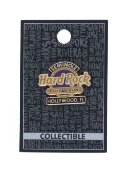 Hollywood Hotel Logo Pin