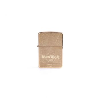 Zippo Brass Etched Guitar Lighter